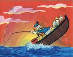 Donald Duck - Angler Of ... Whales - Carte  Avec Hologramme - Disneyworld