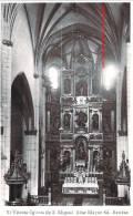 VITORIA IGLESIA DE SAN MIGUEL ALTAR MAYOR ED ARRIBAS - Vitória