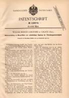 Original Patentschrift - W. Langford In Galatz / Galati , 1900 , Hebeapparat An Wasserfiltern , Wasserwerk !!! - Historische Documenten