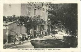 CPA 38 - Choranche Les Bains - Hôtel Des Grottes - Non Classés