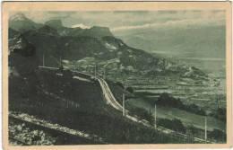 De Grenoble à Villard De Lans Par St Nizier, Vue Sur La Chartreuse Le Mont Blanc Et Les Alpes - Francia