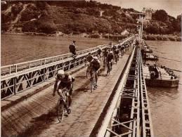 Pont Provisoire De LA ROCHE BERNARD  Tour De L´Ouest 1959 - Vieux Papiers
