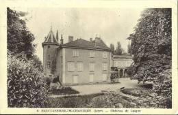 Cp 69 SAINT ST PIERRE DE CHANDIEU Chateau De Laigue   ( Parc Banc Habitation ) - Frankreich