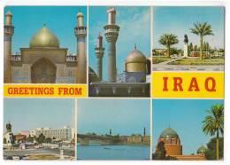 ASIA IRAQ CITY AREAS 6 FOTOS OLD POSTCARD - Iraq