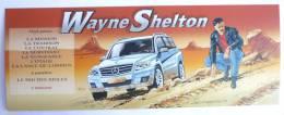 MARQUE PAGE CALENDRIER 2009 - DENAYER - WAYNE SHELTON - Bookmarks