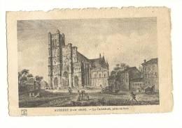 Cp, 89, Auxerre, LA Cathédrale, Prise En Face - Auxerre