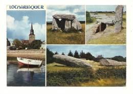 Cp, 56, Locmariaquer, Multi-Vues, Voyagée 1971 - Locmariaquer