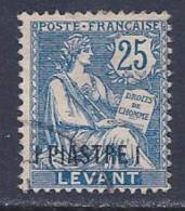 """France, Offices In Turkey, Levant,scott #34 Used """"Rights Of Man"""" Surcharged, 1903 - Unclassified"""