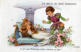 CPA  - LA BELLE AU BOIS DORMANT - Il Vit Une Princesse Belle Comme Le Jour !  - Jim Patt - Fairy Tales, Popular Stories & Legends