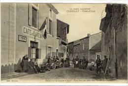 Carte Postale Ancienne Codolet - Grand'Rue - Café De L'Avenir, Bureau De Tabac - France
