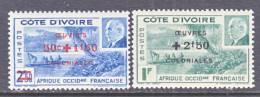 Ivory Coast  B 14 A-b  *  VICHY - Ivory Coast (1892-1944)