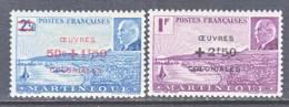 Martinique  B 10 A-b   *  VICHY - Martinique (1886-1947)