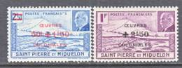 Saint-Pierre And Miquelon  B 11-2   *  VICHY - St.Pierre & Miquelon