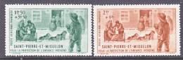 Saint-Pierre And Miquelon  CB 1-2   *  VICHY - Airmail
