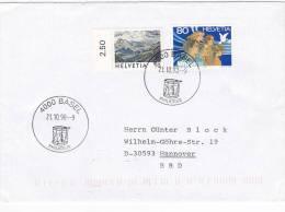 Tres Belle  Lettre  Suisse 1998, Mi 1643-1454/1601 - Stamped Stationery
