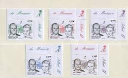 Monaco, Mariage Princier, Neufs ** - Monaco