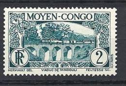 CONGO N� 114 NEUF** LUXE