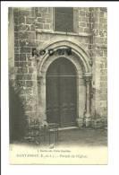 CPA 28 Saint Prest - Portail De L'église - France
