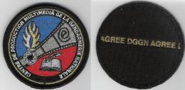 Ecusson    CENTRE DE PRODUCTION MULTIMEDIA DE LA GENDARMERIE NATIONALE - Police