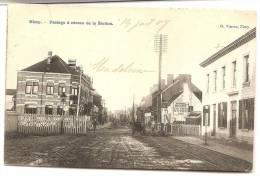 Nimy Passage à Niveau De La Station - Belgique