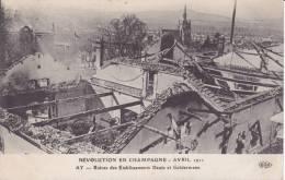 REVOLUTION EN CHAMPAGNE-ruines Des établissements Deutz - Zonder Classificatie