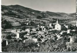CPSM 07 SATILLIEU VUE GENERALE Et MONTS De La LOUVESC - Unclassified
