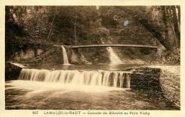 N°26873 -cpa Lamalouk Le Haut -cascade Du Bitoulet Au Petit Vichy- - Lamalou Les Bains