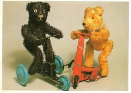 Jeux Et Jouets -Humour- OURS Sportifs Sur Tricycle Et Trottinette (Editions: Les Ours En Peluche Booking Int.)*PRIX FIXE - Jeux Et Jouets