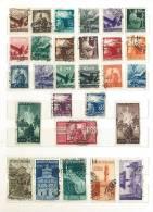ITALIA REPUBBLICA USATI - INTERESSANTE LOTTO DAL 1946 AL 1961 - MOLTI VALORI NON CONTEGGIATI - VEDI FOTOGRAFIE - Timbres