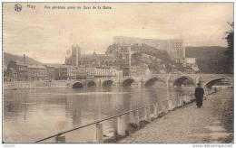 HUY ..-- Pris Du Quai De La Batte . 1920 Vers FARCIENNES ( Mr René Jaumain ) . Voir Verso . - Huy