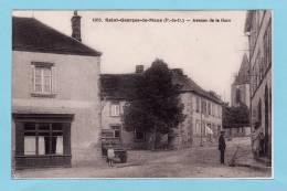 SAINT GEORGES DE MONS -- Avenue De La Gare + Hôtel Du Commerce + Petite Animation - Otros Municipios