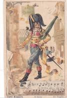 21209. Chanson Cadet Rousselle. 8 Sujet 1er Couplet ; - Chromos