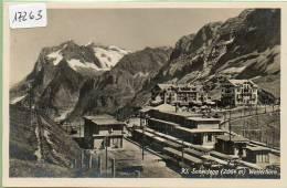 Kleine Scheidegg, Circulé,la Gare, Animée. - BE Berne