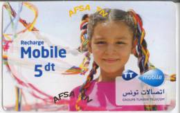 Carte Prépayé (Tunisie Telecom) - Tunisie