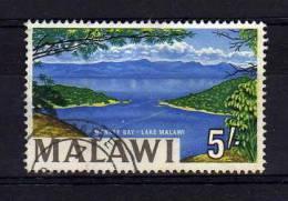 Malawi - 1966 - 5/- Lake Malawi - Used - Malawi (1964-...)