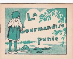 Semelles Wood-milne -brochure11x14cm 4 Feuillets. Morale Enfant Dessin Illustrateur?la Gourmandise Punie Creme