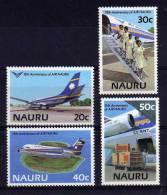 Nauru - 1985 - 15th Anniversary Of Air Nauru - MNH - Nauru