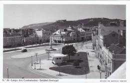 B2244 * PORTUGAL. SETÚBAL. Largo Dos Combatentes. Postal Fotográfico. Photographic Postcard. - Setúbal