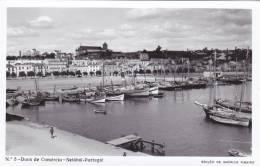 B2243 * PORTUGAL. SETÚBAL. Doca De Comércio. Postal Fotográfico. Photographic Postcard. - Setúbal