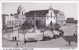 B2245 * PORTUGAL. SETÚBAL. Praça Do Bocage. Postal Fotográfico. Photographic Postcard. - Setúbal