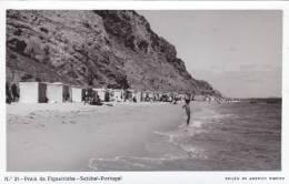 B2240a * PORTUGAL. SETÚBAL. Praia Da Figueirinha. Postal Fotográfico. Photographic Postcard. - Setúbal