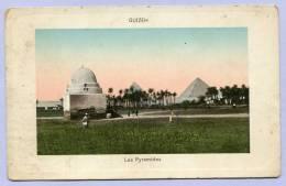 Vintage Card Gizeh Guizeh Les Pyramides Pyramiden ( 420 ) - Gizeh