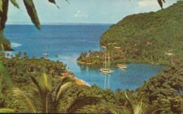 CARIBBEAN MARIGOT BAY  ST. LUCIA YEARS ?60 - Santa Lucía