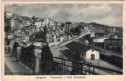 Italie - Agrigento Panorama E Scalo Ferroviario - Agrigento