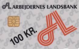 Denmark, DD 024A, Al Logo, Only 1240 Issued, 2 Scans. - Danemark
