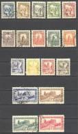 Tunisie.: Yvert 161/178°; Voir Le Scan - Tunisie (1888-1955)