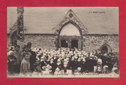 29-CPA PLOUGASTEL DAOULAS, Pardon De La Chapelle Blanche - Plougastel-Daoulas