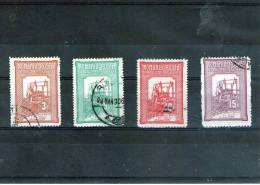 1905/6 - TESATOAREA/Tissant  Mi No 165/168 Et Yv No 164/167 - Gebraucht