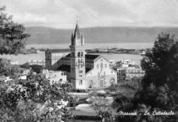 """Bellissima Cartolina  Anni 50    """"  MESSINA -   La Cattedrale  """" - Messina"""