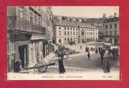 29-CPA MORLAIX, Place Emile Souvestre - Morlaix